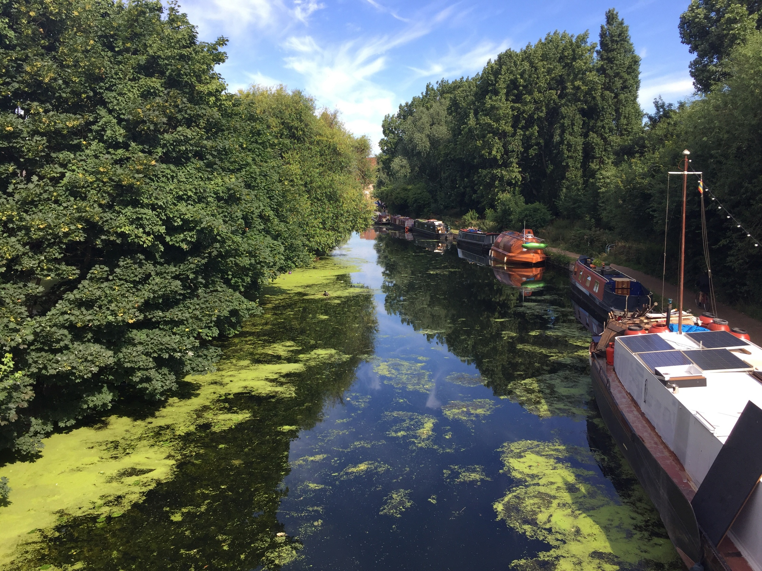 Working on the river lea this week and she's looking good