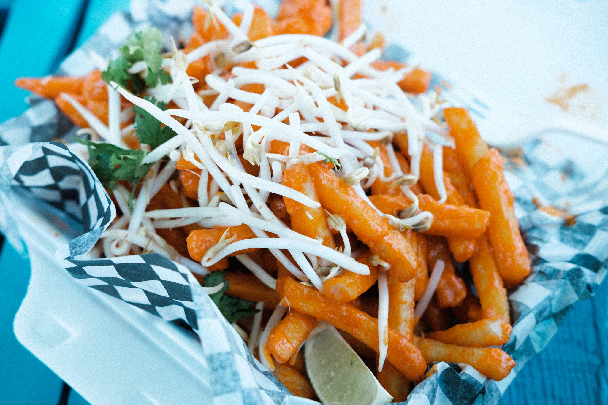 Pad Thai fries. The BEST.