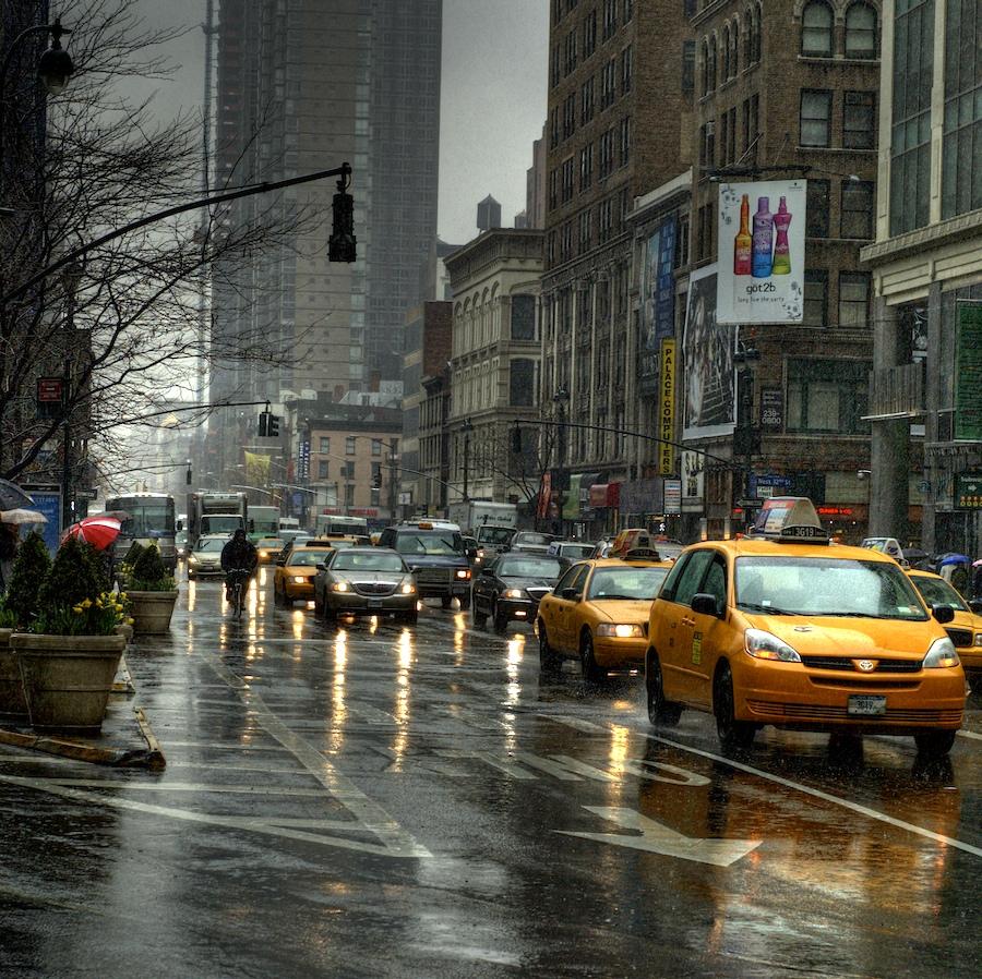 Rain: New York City