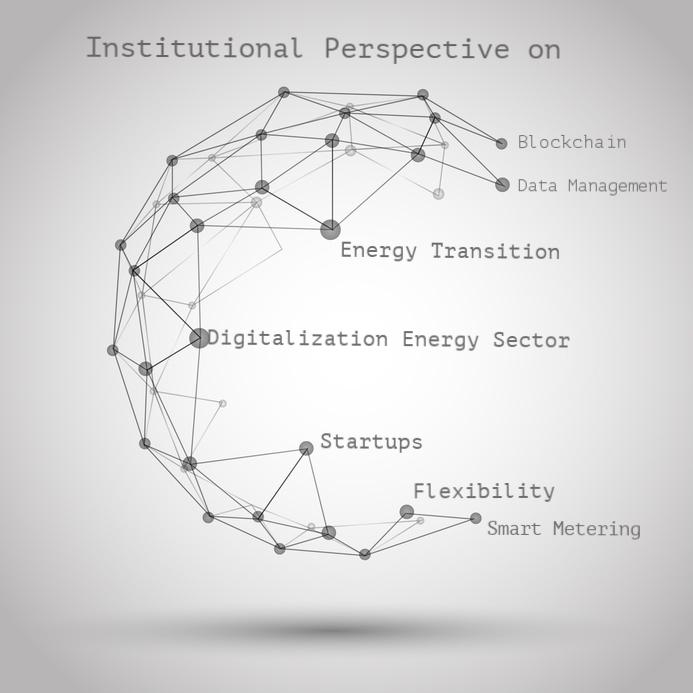 Institutional Environment - Digitalization - Energy - Blockchain - Startups- Flexibility- Data Management