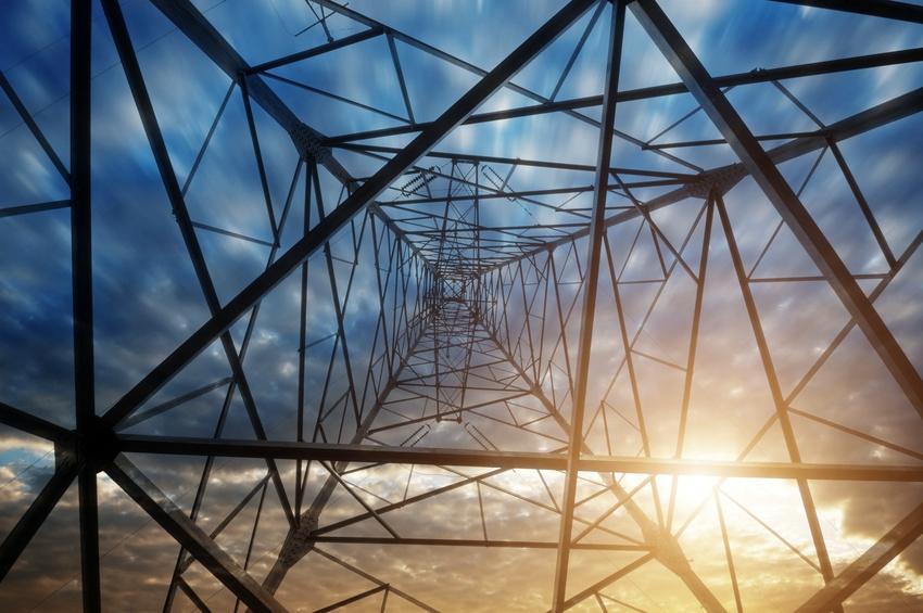 Electricity Tower Sun