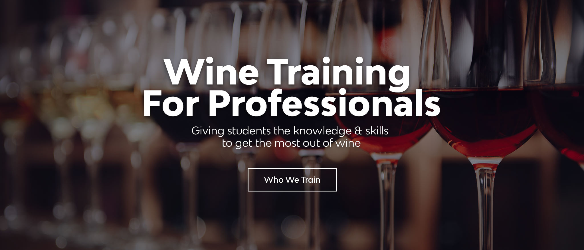Wine Training For Professionals