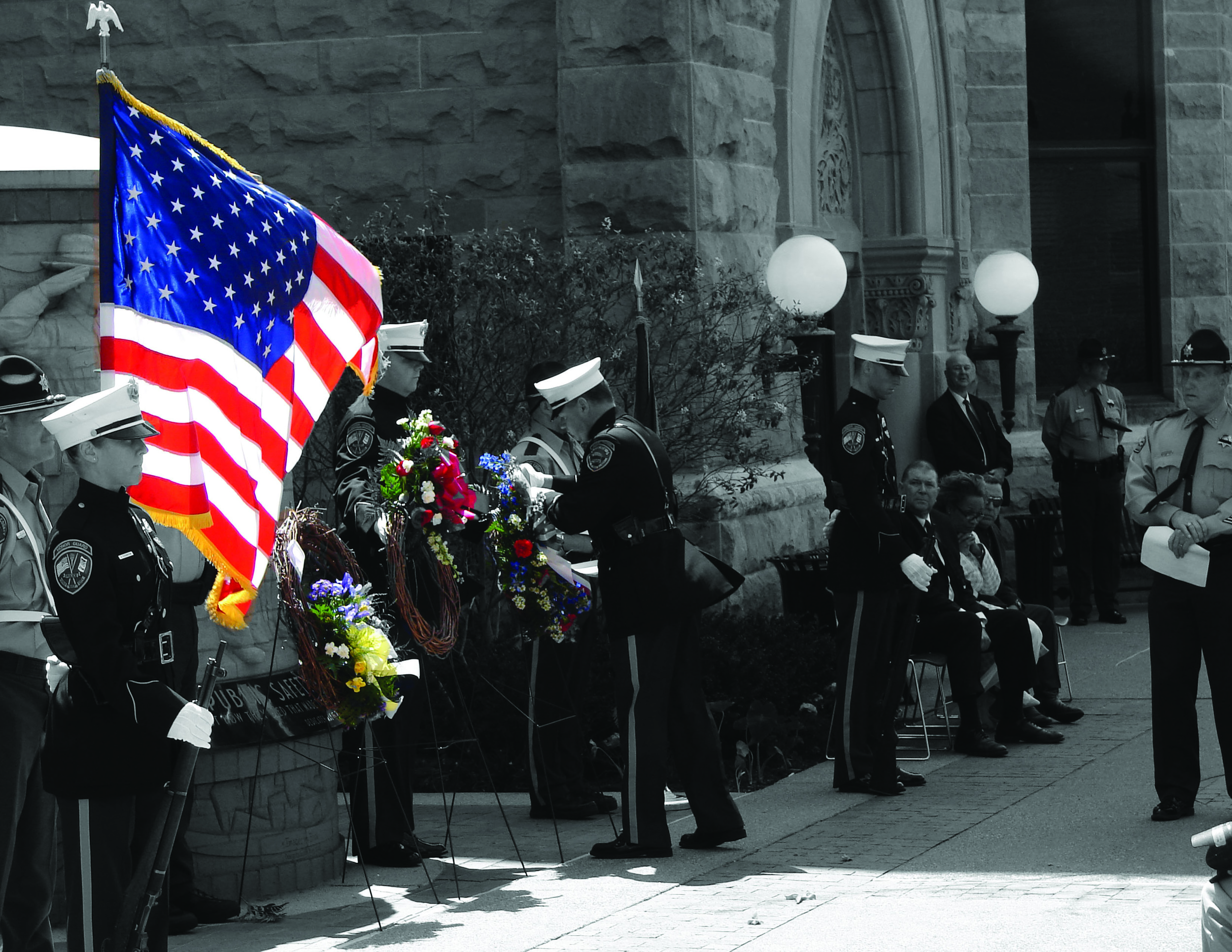 Copy of Honoring the fallen