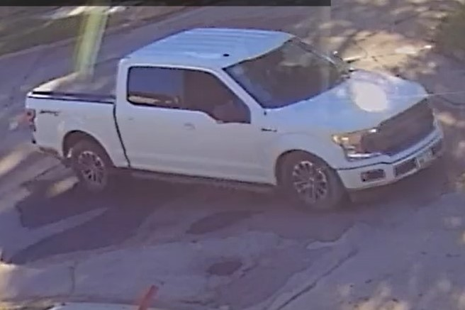 2018 Ford F-150 involved in shooting.