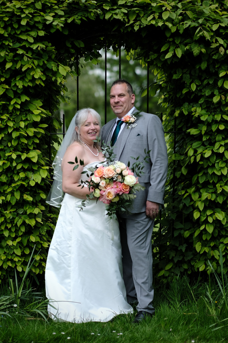 Leamington Spa wedding photographer - bride and groom at Ardencote hotel - couples portrait.jpg