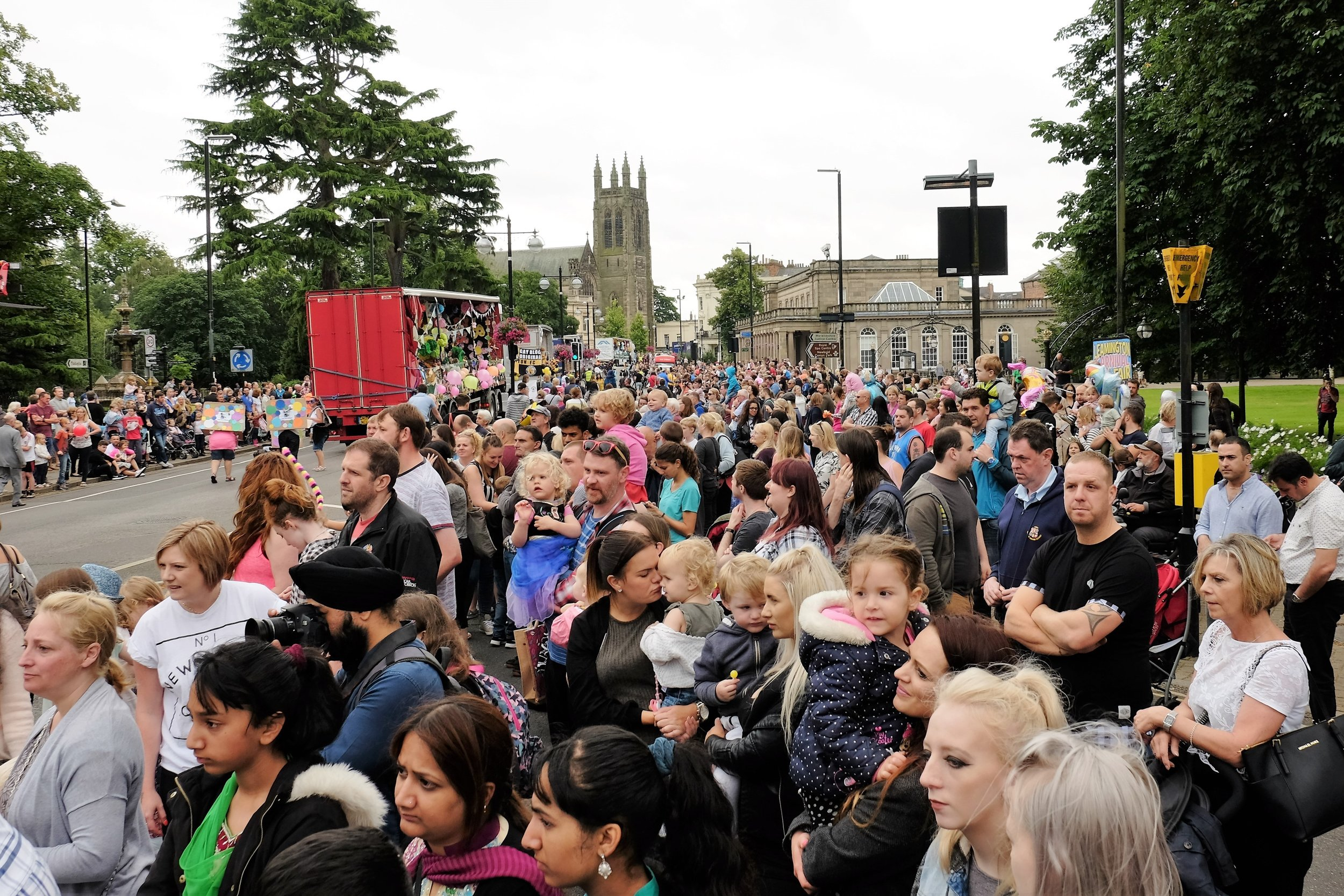 Leamington Spa Event photographer - leamington carnival photography crowd scene warwickshire.JPG