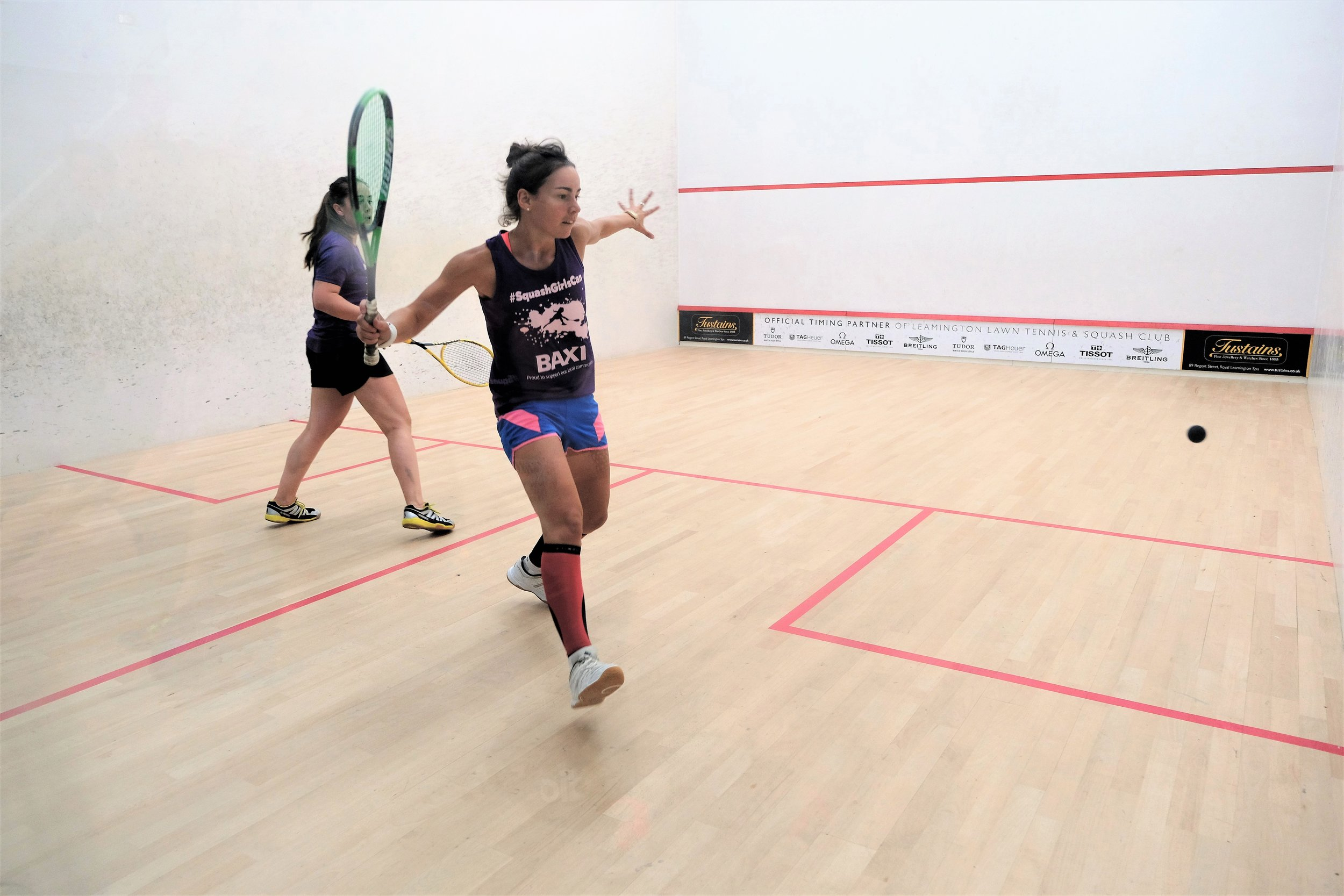 Leamington Spa Event photographer - sports event photography squash professional players (female) warwickshire.JPG