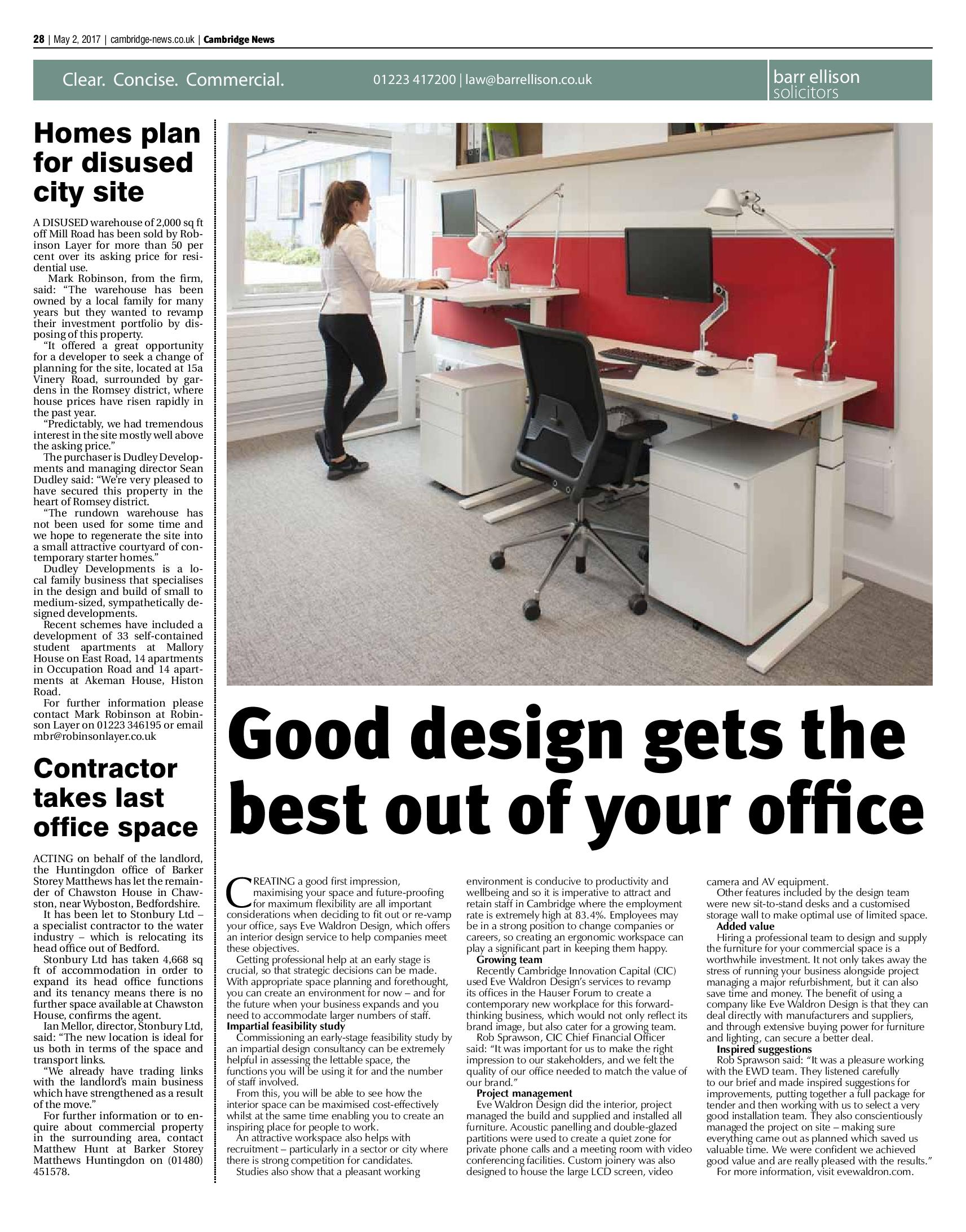 Eve Waldron Design for Offices