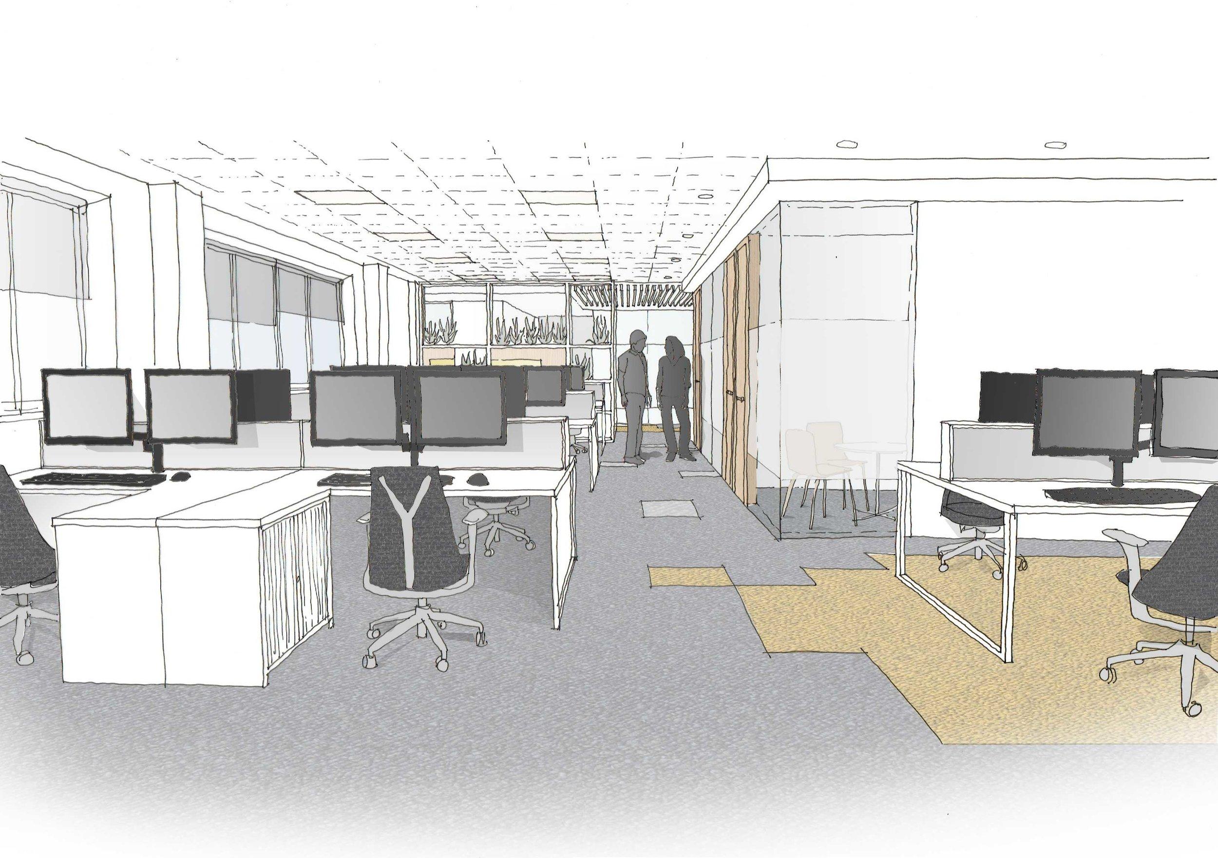 Office CONCEPT & DESIGN DEVELOPMENT