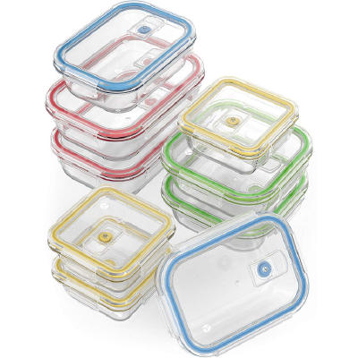 Glass Food Storage Containers -
