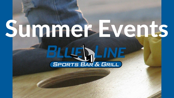 Summer events blue line