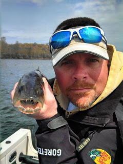 According to Esther, Scott is a walleye expert.. she just wishes he knew less about walleyes and more about  work !