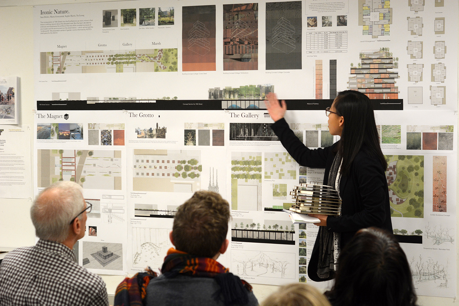 In fall 2016 taught the Senior Studio on Housing and Open Space. Our site was the  SW EcoDistrict in Washington DC.  A booklet showing the studio work can be found at this link:  http://landarch.rutgers.edu/documents/EcoDistrictStudioF2016.pdf