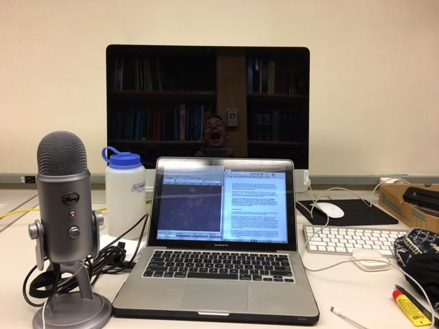 Radio behind the scenes.