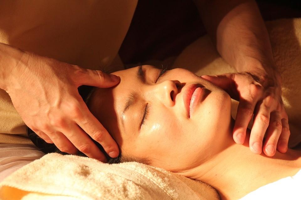 Massage session -