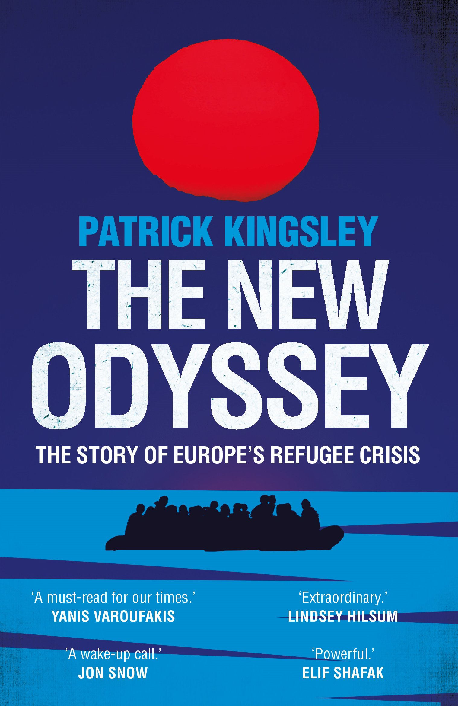 """The New Odyssey - Written by Patrick Kingsley, The Guardian's migration correspondent. He travelled to seventeen countries in 2015 to research this book and writes about the journey as well as the reasons for flight. He writes about volunteers, smugglers, coastguards, as well as """"politicians who look the other way"""". Read it and be changed."""