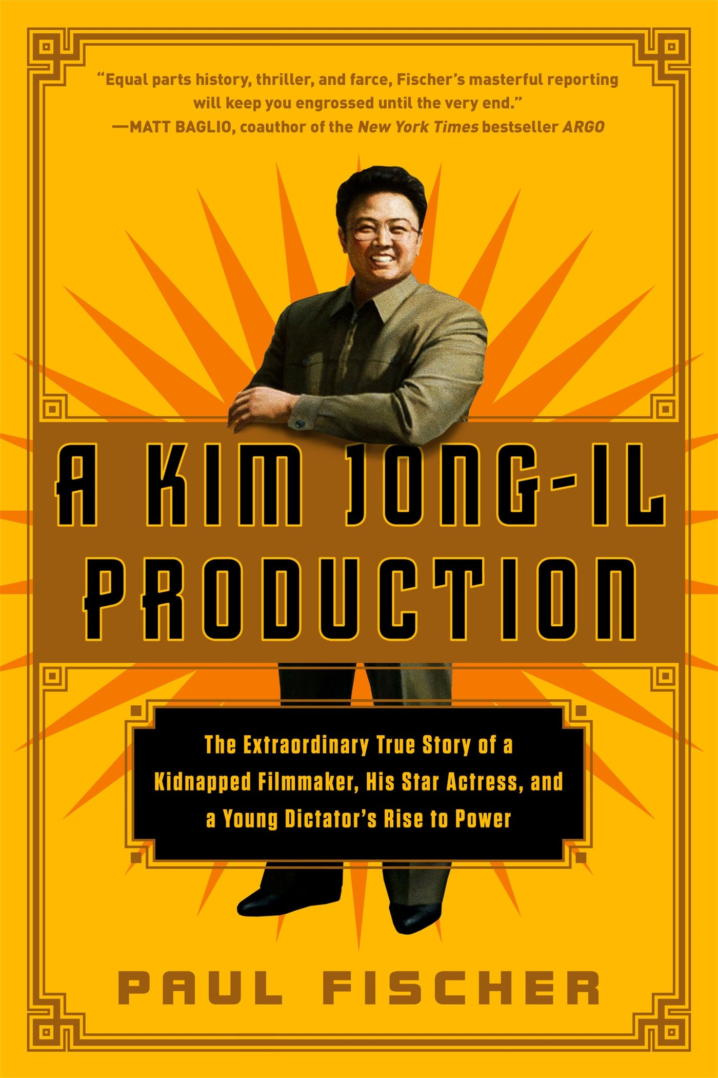A Kim Jong-Il Production - Kim Jong-il was a massive film fan who was fed up with films produced in North Korea. In an attempt to improve the quality of North Korean films he decided to kidnap a famous actress and her director ex-husband. Abducted from Hong Kong's Repulse Bay, confined for years in prison, the pair were pressed into service producing and acting in North Korean films. Finally gaining trust they travelled abroad from where they managed to escape their minders and flee to the safety of the American embassy in Vienna. A bizarre, unbelievable yet factual account.