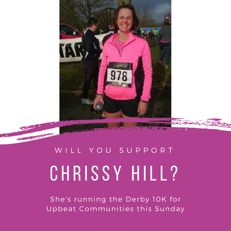 """Chrissy Hill, one of our fantastic volunteers, says """"please consider giving to this worthy cause as Upbeat Communities seek to enrich the lives of refugees arriving in our city!"""":  justgiving.com/fundraising/chrissy-hill"""