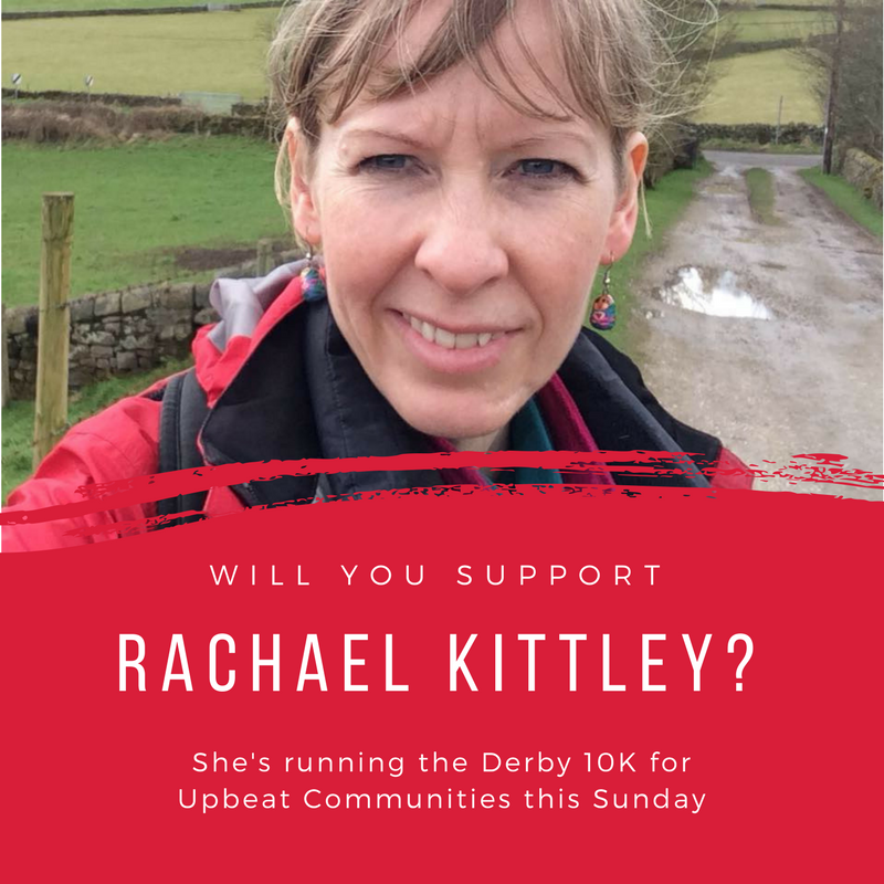 """Rachael Kittley believes that """"refugees should be warmly welcomed"""". She's training hard for the race, and is hoping for a competitive time:  justgiving.com/fundraising/rachael-kittley"""