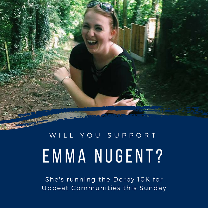 """Volunteer Emma Nugent says """"Upbeat Communities are doing amazing things to ensure refugees are made to feel welcome in the city, building friendships and supporting one another but there is still so much more to be done"""":  justgiving.com/fundraising/emma-nugent3"""