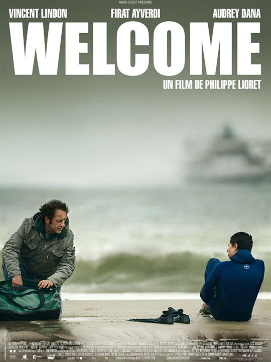 Welcome - A French film which highlights the desperation many people face when trying to come to England, as well as how unwelcoming Northern France is to asylum seekers.  Simon (who is breaking up with his wife) meets Bilal, a Kurdish asylum seeker. Here's a quote to get you interested: