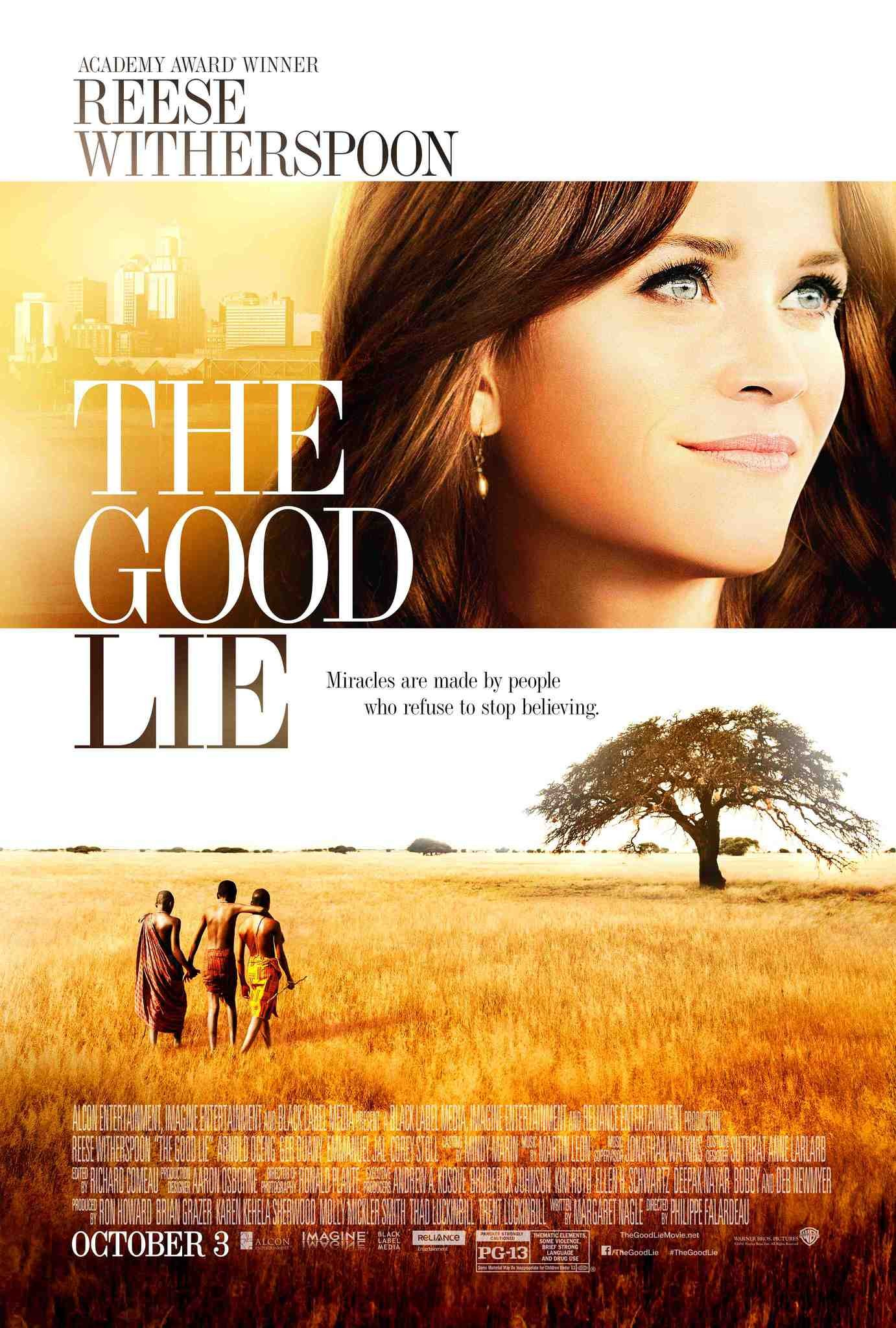 The Good Lie - This 2014 release starring Reese Witherspoon tells the story of how many Sudanese people fled violence and war. This film follows three brothers who were resettled in America. As you would expect, it is moving and emotional. Perhaps more surprising is how funny it is. A good film to show friends who believe the tabloid headlines that asylum seekers come to the west for an easy life.