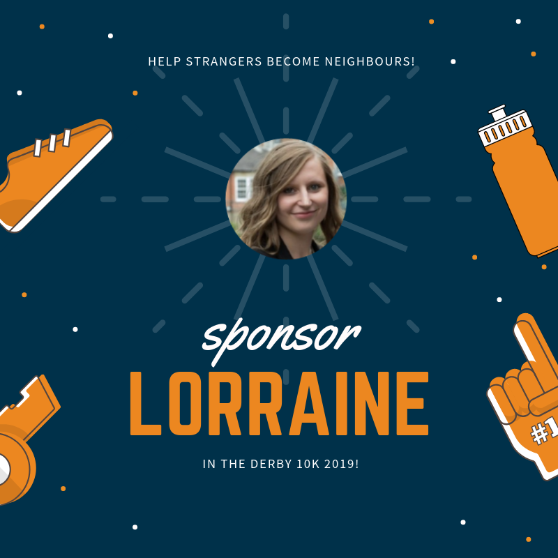 Click the image to visit Lorraine Stokes' fundraising page