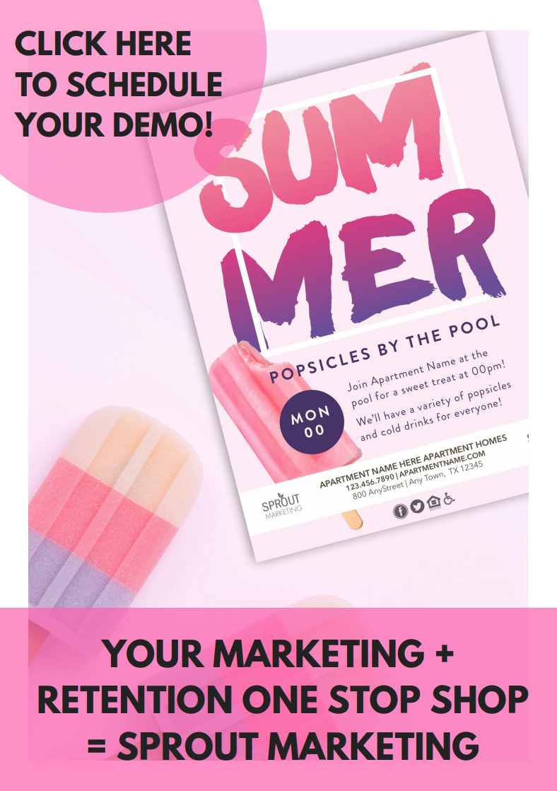 Summer Apartment Marketing with Sprout Marketing