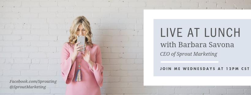 Register for upcoming FB Live trainings here.