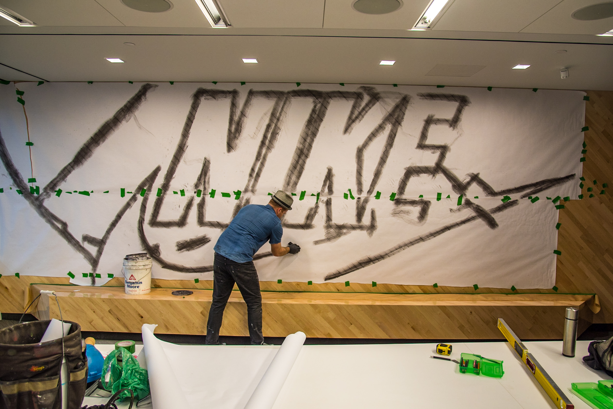 Nike boardroom