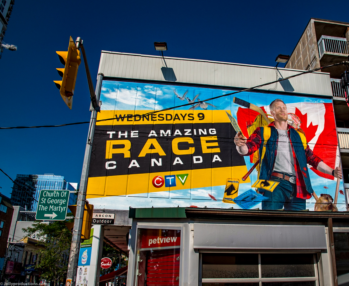 Amazing Race Canada mural