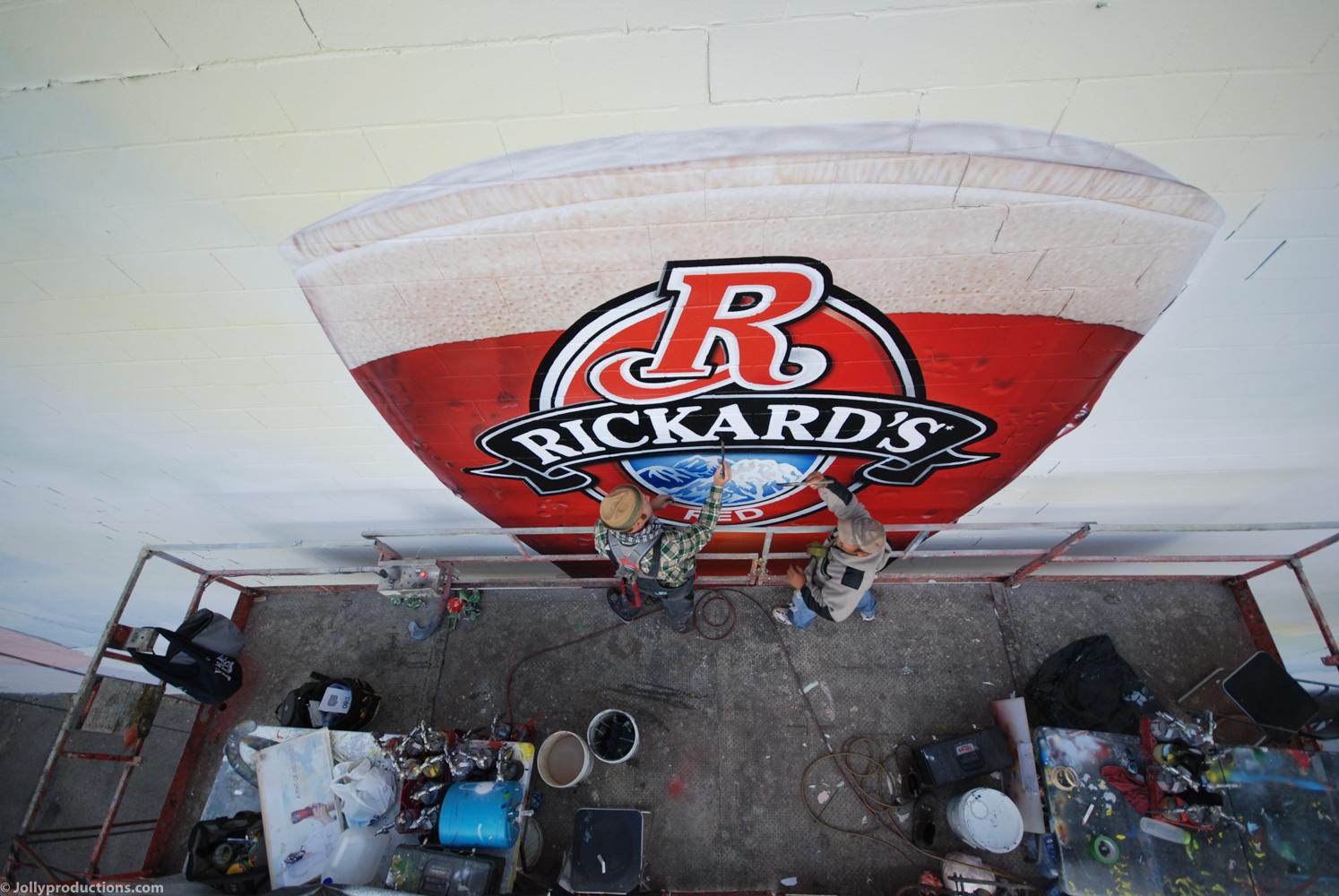 Rickard's mural