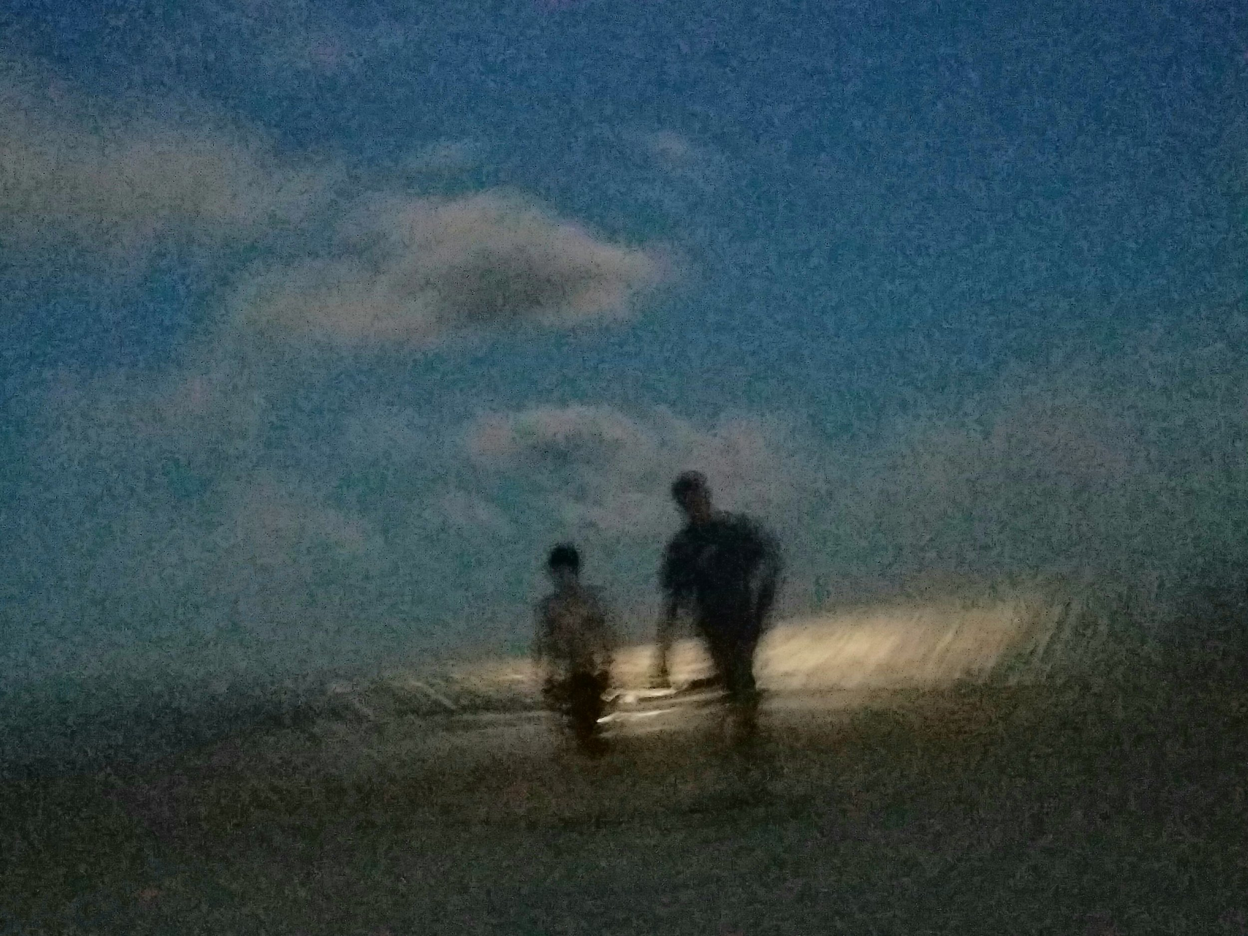 My boys frolicking on the beach while Chasing Sunsets.