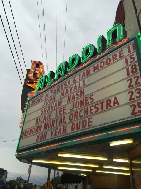 Marquee for Purusa record release night for 'Repair'