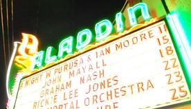 Another shot of our favorite Marquee to date.