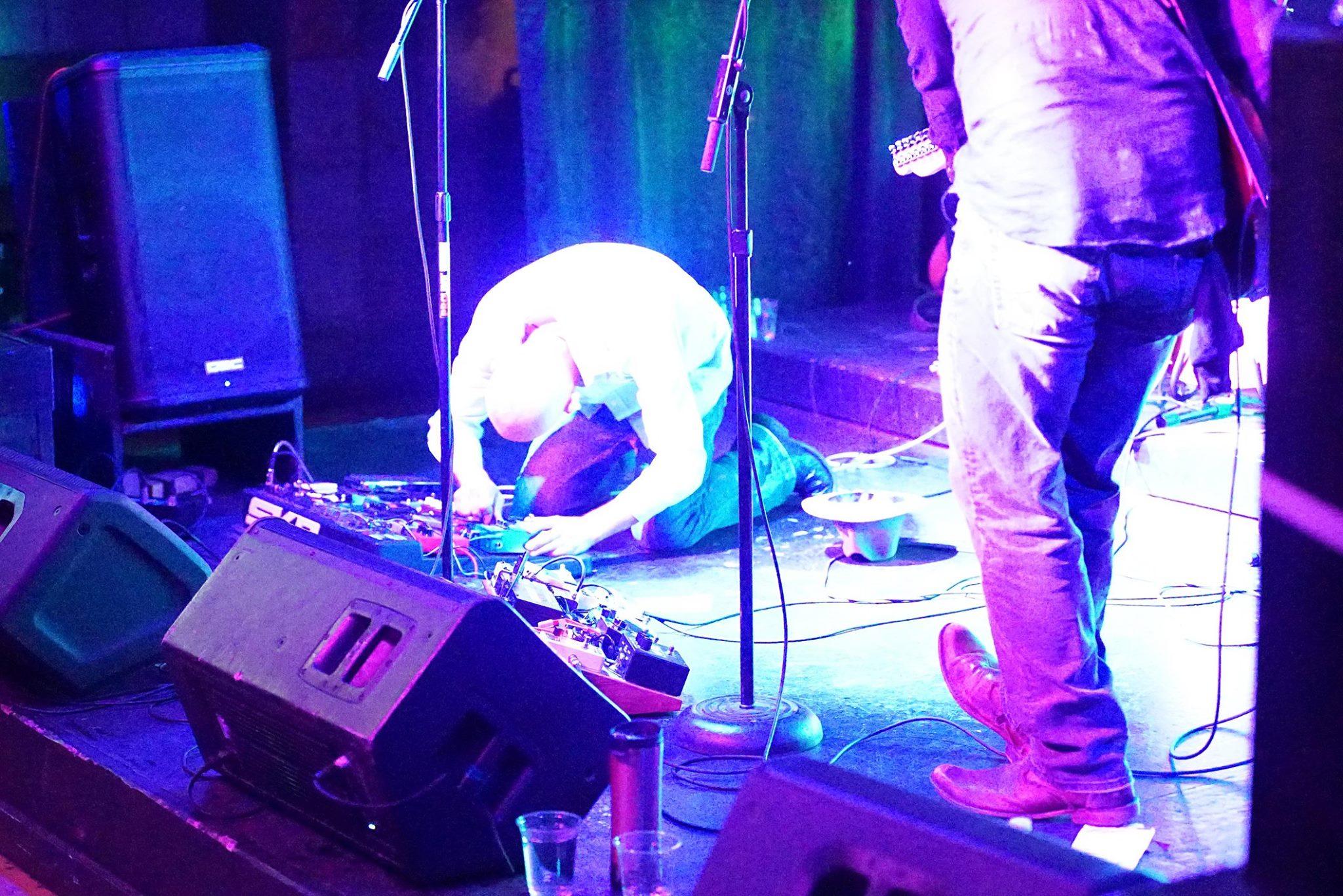 End of show, Purusa live at Analog, Portland.