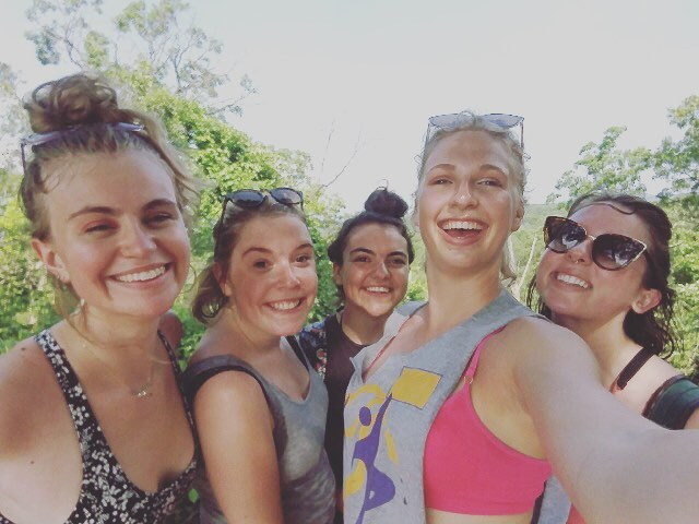 This was such a good day. What a great group of ladies. My favorite part was when I swatted a mosquito off my body and directly into Mackenzie's mouth. Can't speak for her but I'm pretty sure that was her favorite part too!!! 😵🐝💛