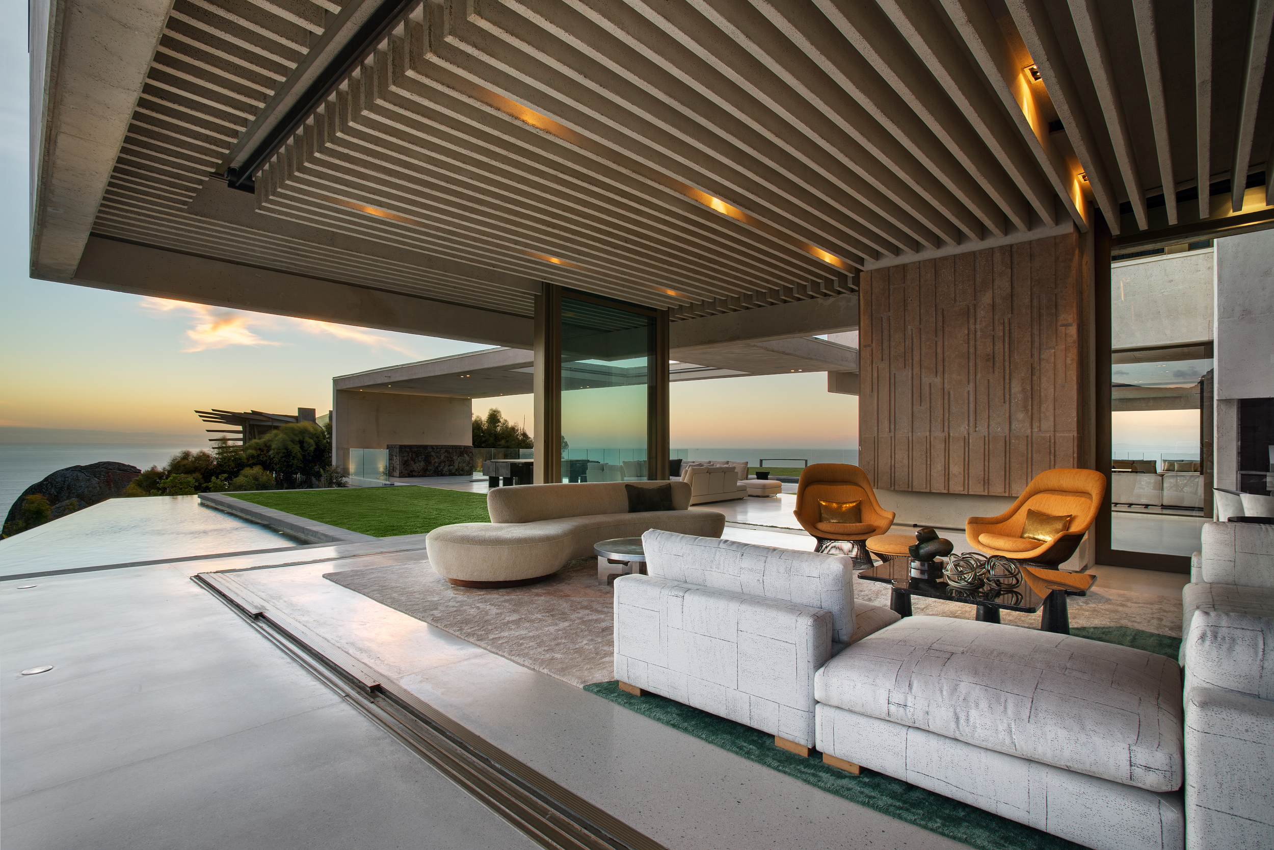 Project OVD 919's terrace opens up to the coastline and the sea views, by SAOTA