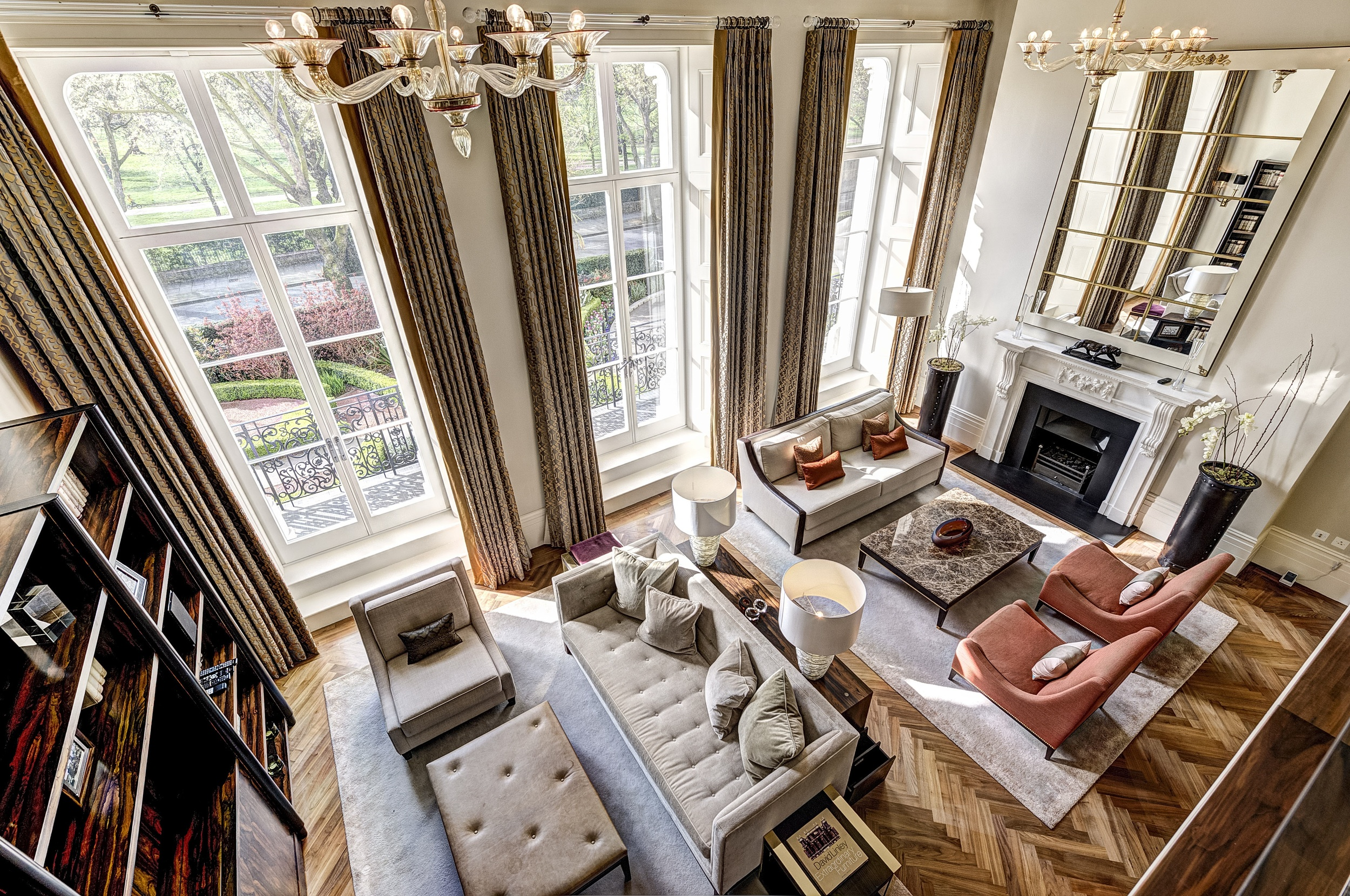 The Lancasters in London offers residences in a secure gated environment