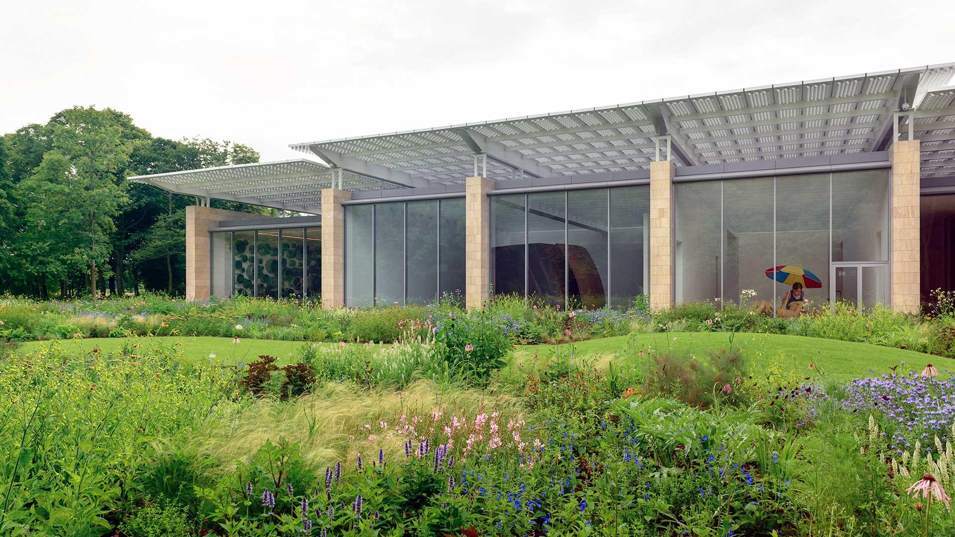 The Voorlinden Museum in Wassenaar,Netherlands