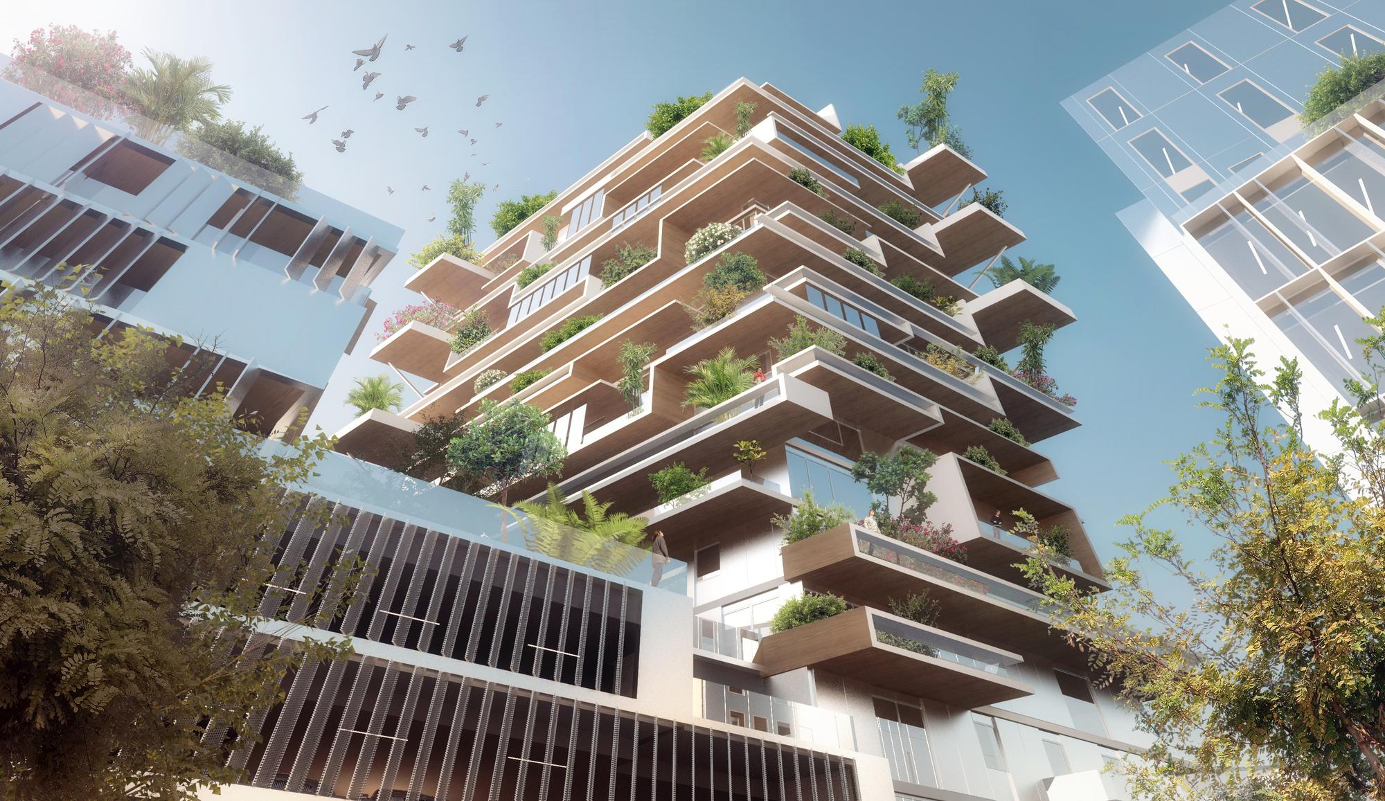 Jean Paul Viguier's Hyperion building in Bordeaux, France