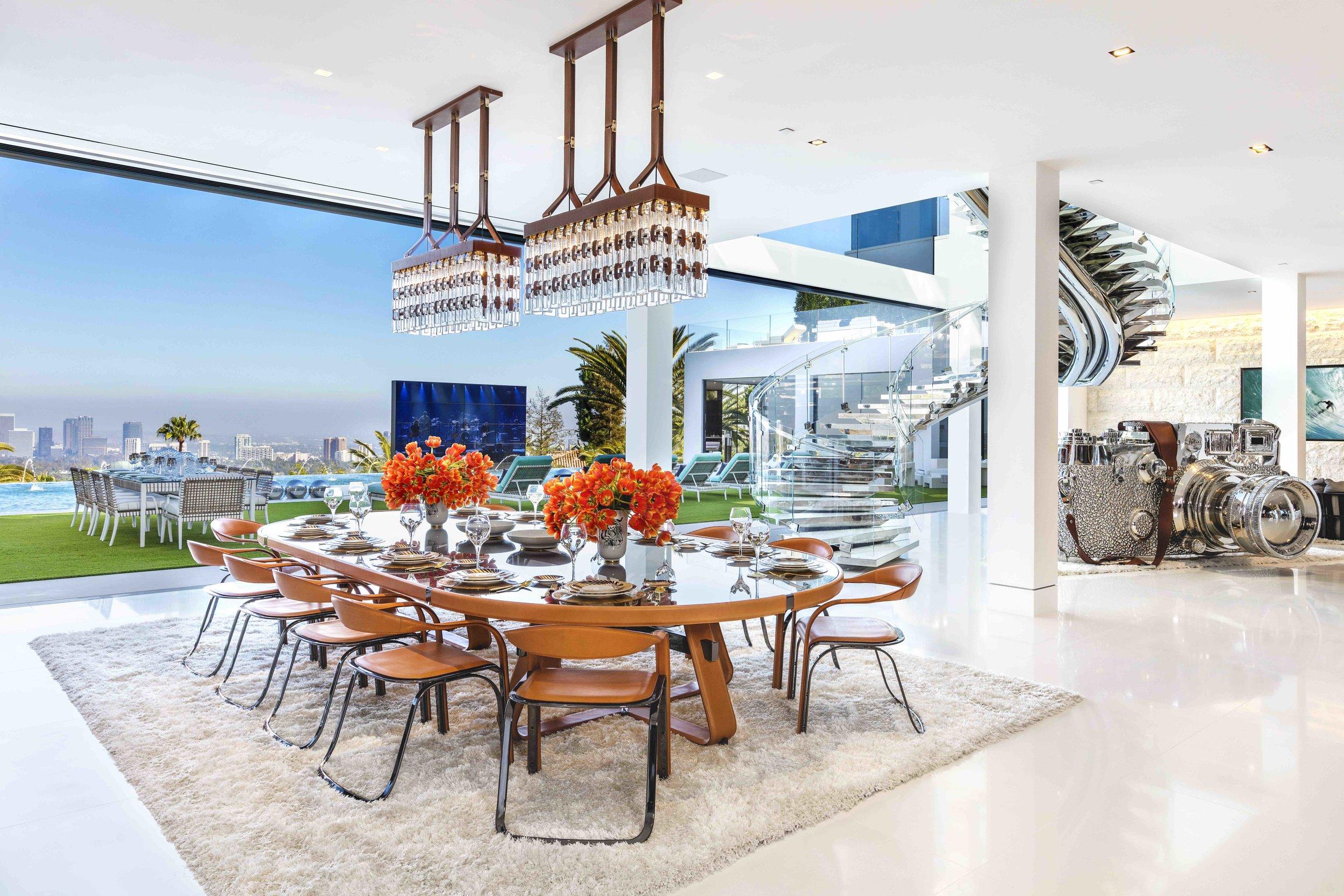 Inside Bel Air S 250 Million Mansion Sophie Kalle