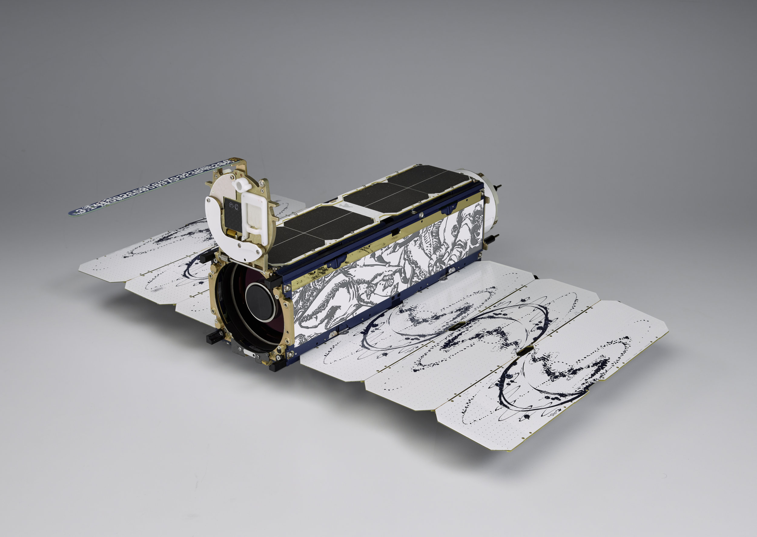 The Dove satellite can take roughly 10,000 images per day