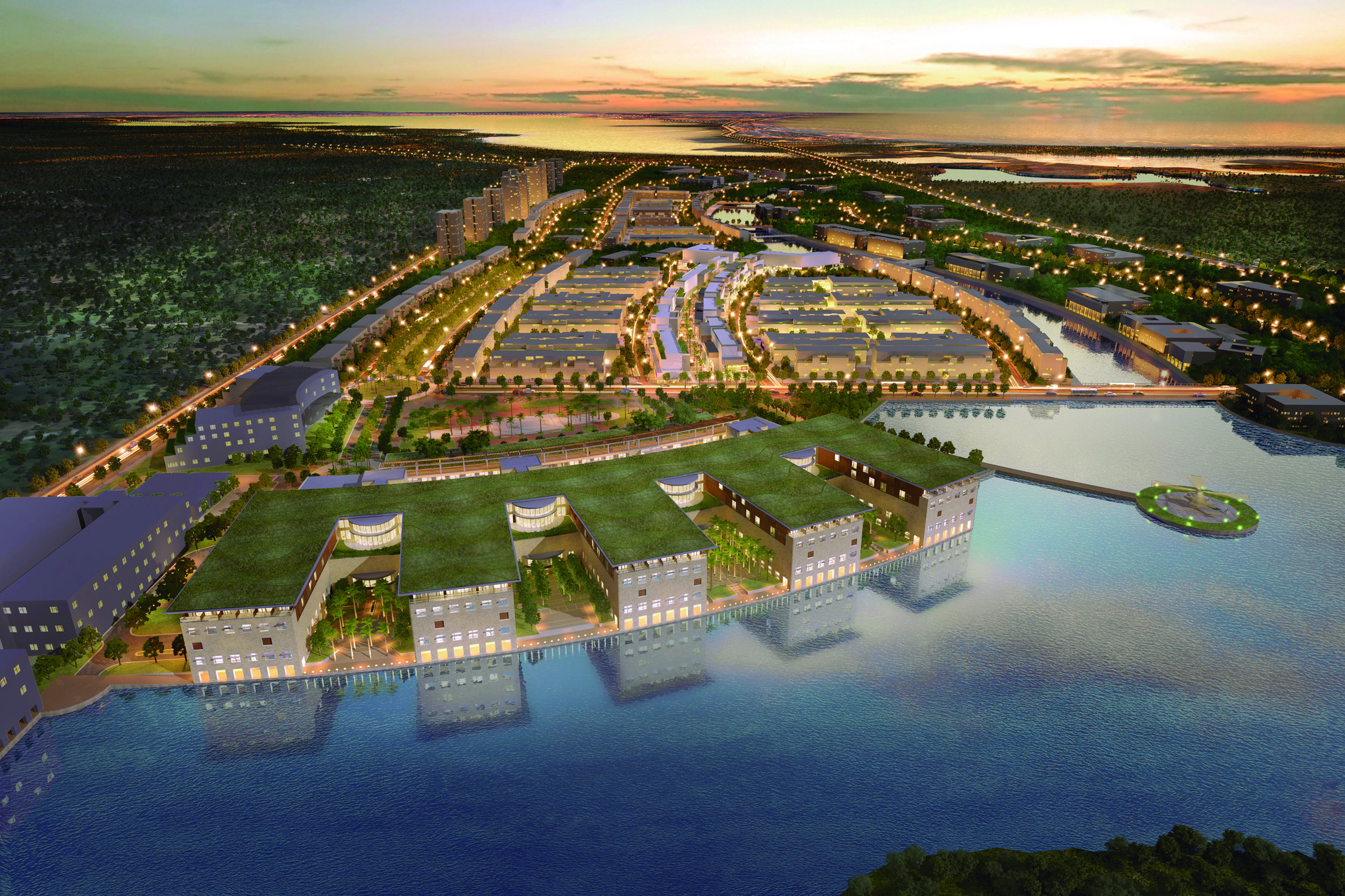 Serena del Mar Masterplan was drawn up by EDSA, an American landscape design firm that specialises in sustainability