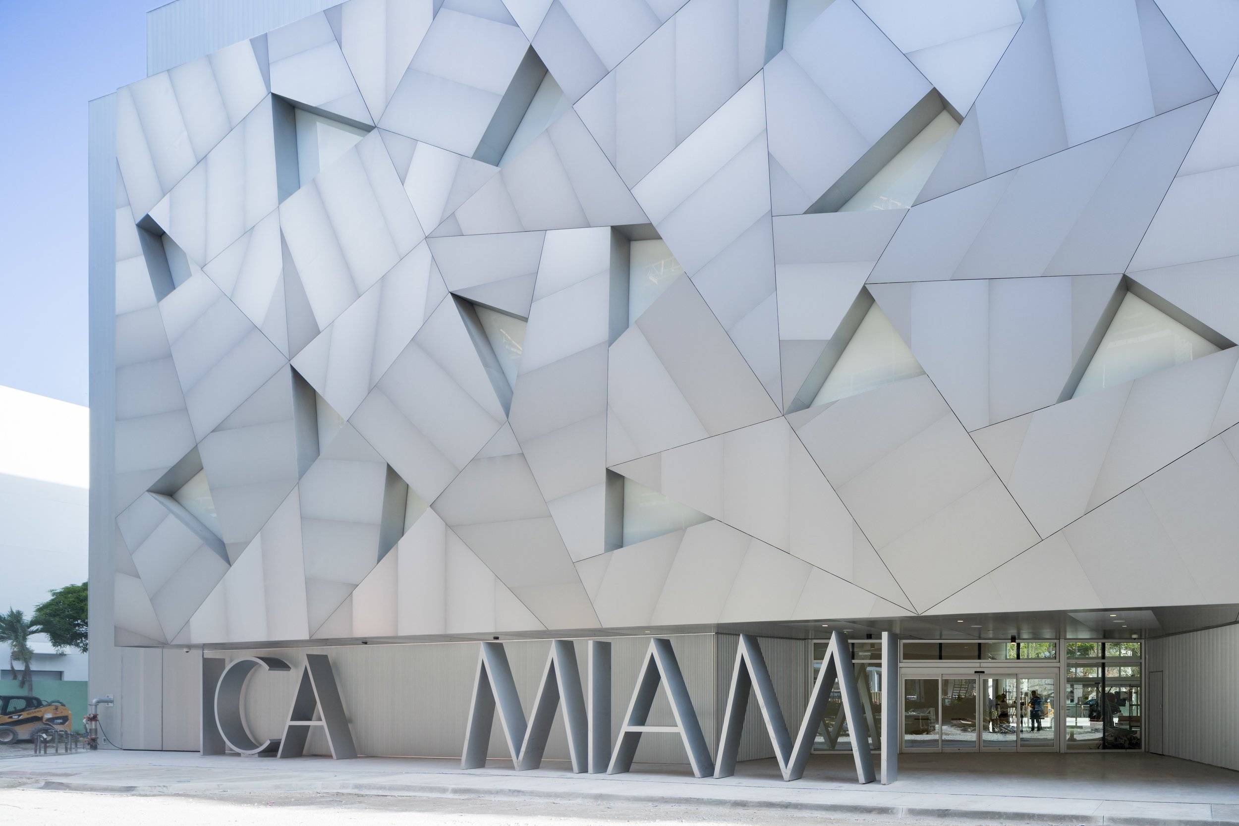 The newly opened Institute of Contemporary Arts Miami