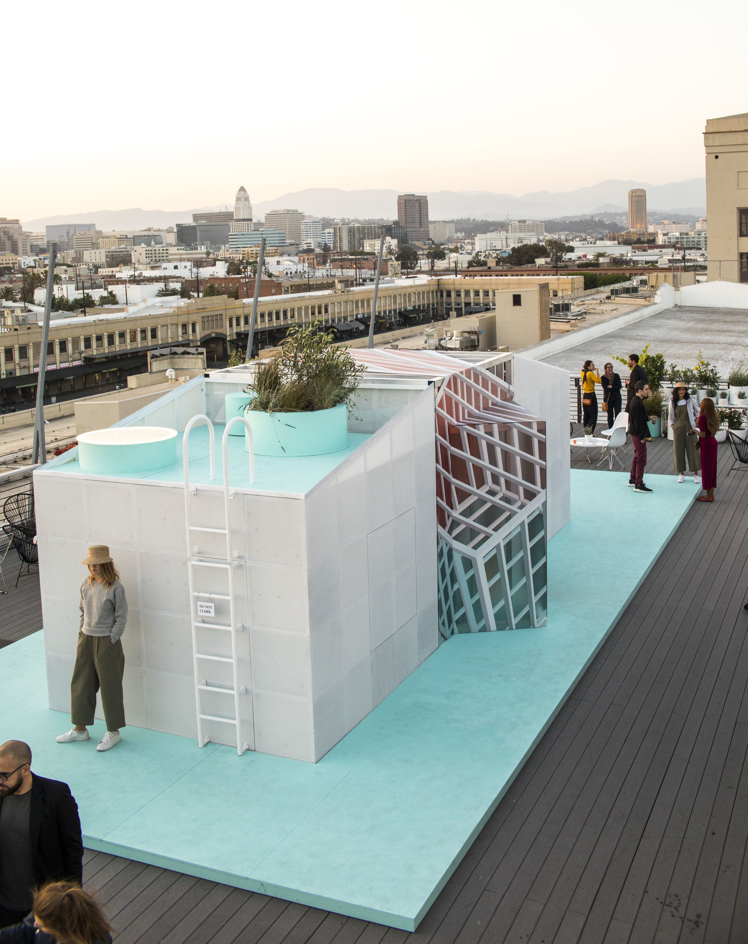 Urban Cabin by FreelandBuck for MINI Living at the Los Angeles Design Festival