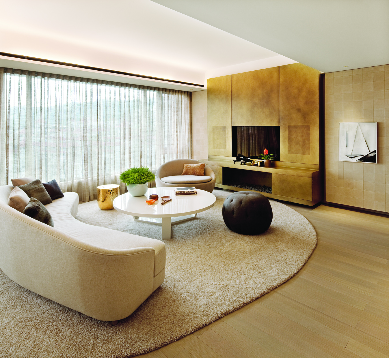 The Lumiere Residences in Taipei feature nine apartments and spaces that range from a library and banquet room to a penthouse