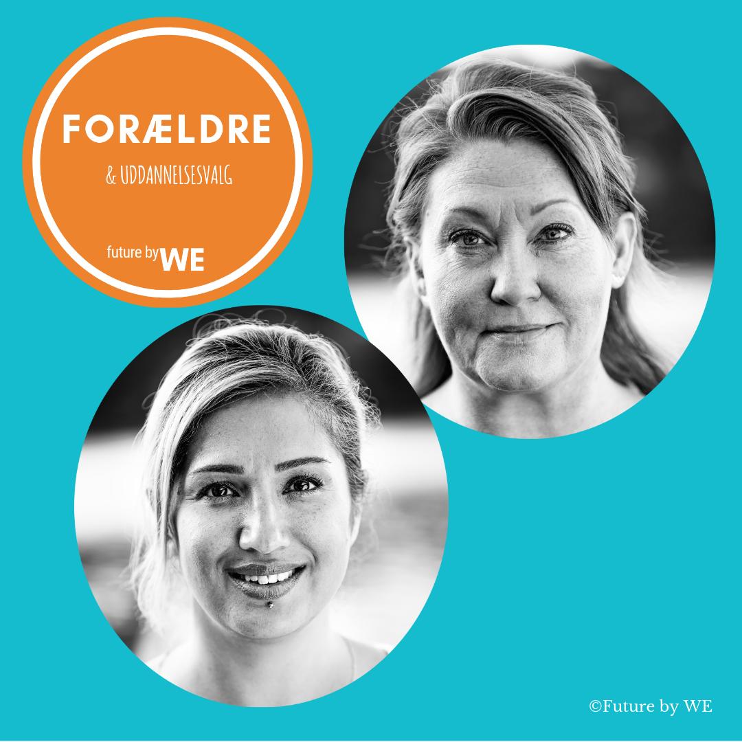 Vi er Future by WE, og hedder Mahtab Beigi og Jannie Ahle - se mere om os  her>  Vil du se, hvad andre har sagt?  Se her>