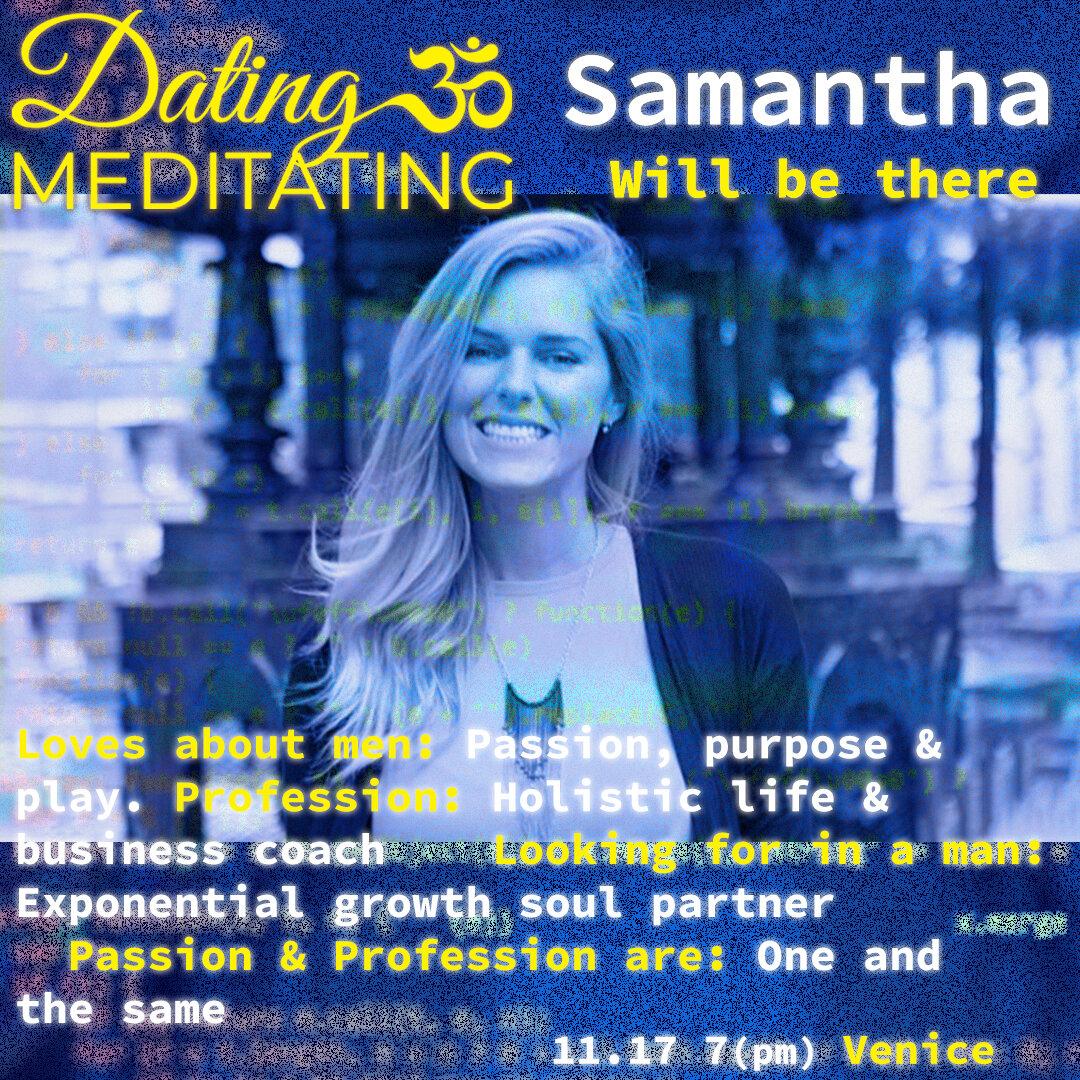 Dating Transcendental Meditation