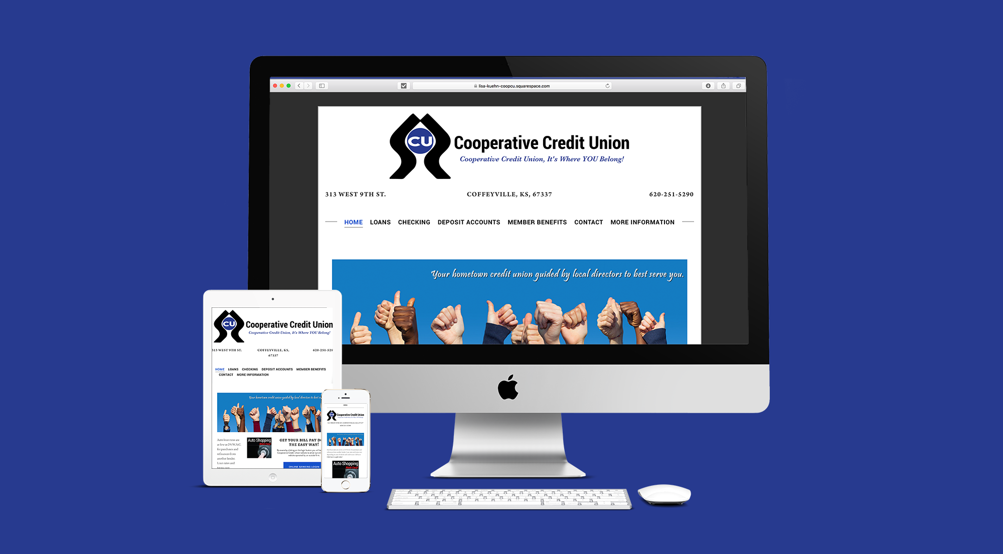 Affordable website design for local businesses in Coffeyville and Independence, Kansas.